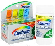 Centrum - Silver Multivitamin/Multimineral for Adults 50+ - 80 Tablets by Centrum