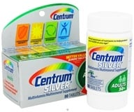 Centrum - Silver Multivitamin/Multimineral for Adults 50+ - 80 Tablets (300054463814)
