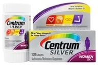 Image of Centrum - Silver Ultra Women's Multivitamin/Multimineral Supplement - 100 Tablets
