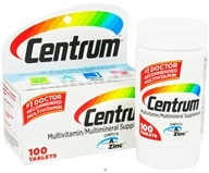 Image of Centrum - Multivitamin/Multimineral Supplement - 100 Tablets