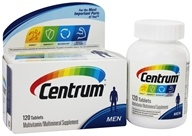 Centrum - Multivitamin/Multimineral Supplement Personalized for Men - 120 Tablets, from category: Vitamins & Minerals
