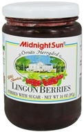 Midnight Sun - Wild Swedish Lingonberries - 14 oz.