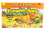 Bigelow Tea - Black Tea Autumn Pumpkin Spice - 20 Tea Bags (072310001909)