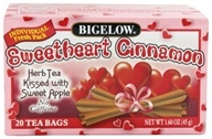 Image of Bigelow Tea - Herb Tea Sweetheart Cinnamon - 20 Tea Bags