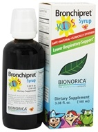 Image of Bionorica - Bronchipret Syrup Herbal Supplement For Kids - 3.38 oz.