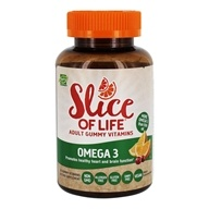 Hero Nutritional Products - Slice of Life Omega 3-6-9 Gummy Vitamins for Adults - 60 Gummies