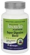 Absorbaid - Platinum Super Digestive Blend - 60 Vegetarian Capsules - $17.99
