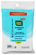 Image of CleanWell - Disinfectant Wipes To-Go Lemon Citrus Scent - 10 Wipe(s)