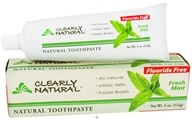 Clearly Natural - Natural Toothpaste Fluoride Free Fresh Mint - 5 oz. by Clearly Natural
