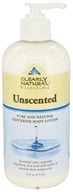 Clearly Natural - Pure and Natural Glycerine Body Lotion Unscented - 16 oz. - $5.49