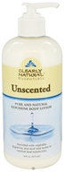 Clearly Natural - Pure and Natural Glycerine Body Lotion Unscented - 16 oz.