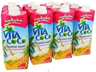 Image of Vita Coco - Coconut Water 500 ml. Tropical Fruit - 17 oz.