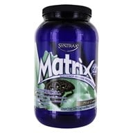 Syntrax - Matrix 2.0 Sustained-Release Protein Blend Mint Cookie - 2.16 lbs. - $24.89