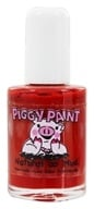 Piggy Paint - Nail Polish Sometimes Sweet Shiny Bright Red - 0.5 oz. by Piggy Paint