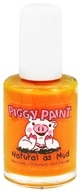 Image of Piggy Paint - Nail Polish Mac-n-Cheese Please Vibrant Pumpkin Orange - 0.5 oz.