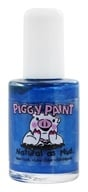 Piggy Paint - Nail Polish Tea Party For Two Shiny Bright Blue Shimmer - 0.5 oz. (850394002070)
