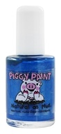 Piggy Paint - Nail Polish Tea Party For Two Shiny Bright Blue Shimmer - 0.5 oz.