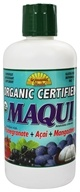Dynamic Health - Organic Certified Maqui Juice Blend Pomegranate + Acia + Mangosteen - 33.8 oz.