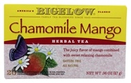 Bigelow Tea - Herb Tea All Natural Caffeine Free Chamomile Mango - 20 Tea Bags (072310000452)
