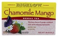 Bigelow Tea - Herb Tea All Natural Caffeine Free Chamomile Mango - 20 Tea Bags
