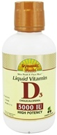 Dynamic Health - Liquid Vitamin D3 Cholecalciferol Cherry Flavor 5000 IU - 16 oz., from category: Vitamins & Minerals