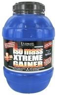 Ultimate Nutrition - Platinum Series Iso Mass Xtreme Gainer Chocolate Milk Flavor - 10.11 lbs., from category: Sports Nutrition