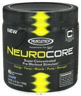 Image of Muscletech Products - NeuroCore Super-Concentrated Pre-Workout Stimulant 45 Servings Grape - 0.42 lbs.