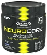 Muscletech Products - NeuroCore Super-Concentrated Pre-Workout Stimulant 45 Servings Grape - 0.42 lbs. (631656702767)