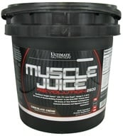 Ultimate Nutrition - Platinum Series Muscle Juice Revolution 2600 Chocolate Creme - 11.1 lbs. (099071002358)