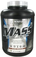 Dymatize Nutrition - Elite Mass Gainer Hi-Protein Muscle Gainer Fudge Brownie - 6 lbs.