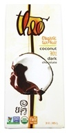 Theo Chocolate - Classic Collection Organic Dark Chocolate 70% Cacao Toasted Coconut - 3 oz. (874492001360)