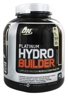 Optimum Nutrition - Platinum Hydrobuilder Chocolate Shake 40 Servings - 4.59 lbs., from category: Sports Nutrition
