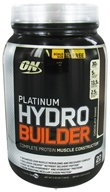 Image of Optimum Nutrition - Platinum Hydrobuilder Bonus Size Chocolate Shake 22 Servings - 2.52 lbs.