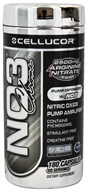 Image of Cellucor - NO3 Chrome Nitric Oxide Pump Amplifier - 180 Capsules