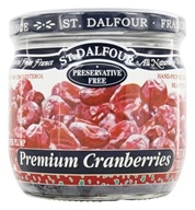St. Dalfour - Super Plump Premium Cranberries - 7 oz. by St. Dalfour
