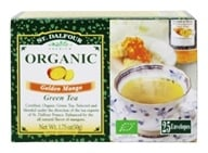St. Dalfour - Green Tea Premium Organic Golden Mango - 25 Tea Bags