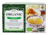 St. Dalfour - Green Tea Premium Organic Original - 25 Tea Bags, from category: Teas