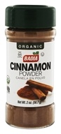 Badia - Organic Cinnamon Powder - 2 oz. (033844002510)