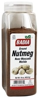 Badia - Ground Nutmeg - 16 oz. - $14.53