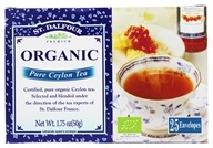 St. Dalfour - Deluxe Premium Organic Tea Pure Ceylon - 25 Tea Bags, from category: Teas