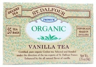 St. Dalfour - Deluxe Premium Organic Tea Vanilla - 25 Tea Bags, from category: Teas