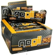 NoGii - Super Protein Bar Chocolate Peanut Butter Caramel Crisp - 3.36 oz., from category: Sports Nutrition