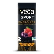Image of Vega Sport - Natural Plant Based Pre-Workout Energizer Acai Berry - 0.6 oz.