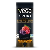 Vega Sport - Natural Plant Based Pre-Workout Energizer Acai Berry - 0.6 oz. by Vega Sport