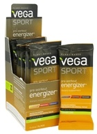 Vega Sport - Natural Plant Based Pre-Workout Energizer Lemon Lime - 0.6 oz.