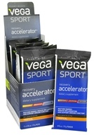 Vega Sport - Natural Plant Based Recovery Accelerator Tropical - 0.96 oz. (838766009223)