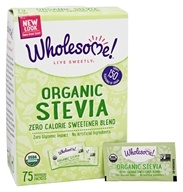 Wholesome Sweeteners - Organic Stevia - 75 Packet(s)