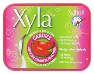 Xylitol USA - Xyla Naturally Sugar Free Candies Watermelon Splash - 100 Piece(s)