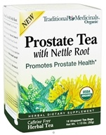 Traditional Medicinals - Organic Prostate Tea with Nettle Root - 16 Tea Bags, from category: Nutritional Supplements