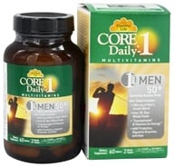 Country Life - Core Daily 1 For Men 50+ - 60 Tablets, from category: Vitamins & Minerals
